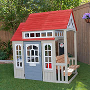 KidKraft Braewood Playhouse Cedar Summit