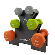 HEAD Fitness 32 lbs. Dumbbell Set
