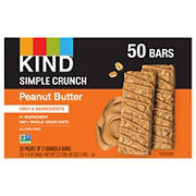 KIND Peanut Butter Simple Crunch, 50 ct.