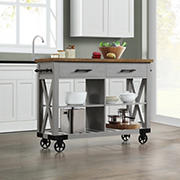 Whalen Modern Farmhouse Kitchen Cart