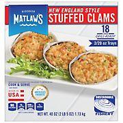 Matlaw's Large Stuffed Clams, 18 ct./40 oz.