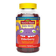 Nature Made Kids First Elderberry Gummies, 120 ct.