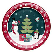 "Artstyle 'Holiday Friends' 10""  Dinner Paper Plates, 40 ct."