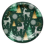 "Artstyle 'Cozy Lodge' Holiday 10"" Dinner Paper Plates, 40 ct."