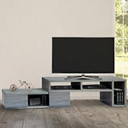 "Techni Mobili 53"" Expandable TV Stand for TVs Up to 65"" - Gray"