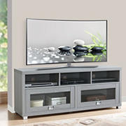 "Techni Mobili 57"" Durbin TV Stand for TVs Up to 75'' - Gray"
