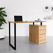 Techni Mobili Computer Desk - Pine