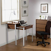 Techni Mobili Retractable Writing Desk - Walnut
