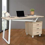 Techni Mobili Computer Desk - Sand