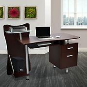 Techni Mobili Stylish Computer Desk - Chocolate