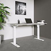 Techni Mobili Sit to Stand Desk - Gray