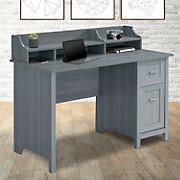 Techni Mobili Classic Office Desk - Gray