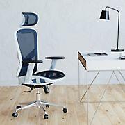 Techni Mobili Exec Mesh Chair - Blue