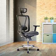 Techni Mobili High Back Mesh Chair - Black