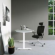 Techni Mobili High Back Exec Mesh Chair - Black