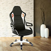 Techni Mobili Racing Style Chair - Black