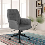 Techni Mobili Modern Office Chair - Gray