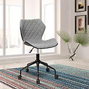 Techni Mobili Armless Task Chair - Gray