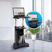 Techni Mobili Sit-to-Stand Cart - Graphite