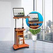 Techni Mobili Sit-to-Stand Cart - Wood