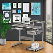 Techni Mobili Space Saving Desk - Gray