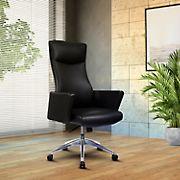 Techni Mobili High Back Executive Chair - Black
