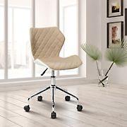 Techni Mobili Modern Task Chair - Beige