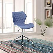 Techni Mobili Modern Task Chair - Blue