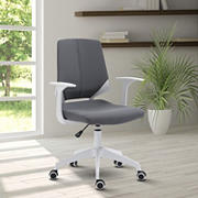 Techni Mobili Height Adjustable Mid Back Office Chair - Gray