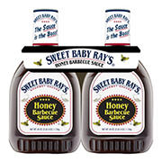 Sweet Baby Ray's Honey Barbecue Sauce, 2 pk./40 oz.
