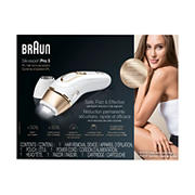Braun Silk expert Pro 5 IPL Hair Removal System, PL5137 with Venus Swirl Razor, FDA Cleared - White and Gold