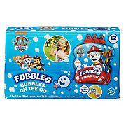 Fubbles Bubbles On the Go, 12 pk. - Paw Patrol