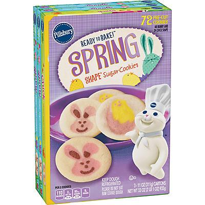 Pillsbury Spring Cookies, 3 pk./11 oz.