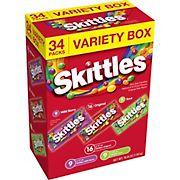 Skittles Variety Pack, 34 ct.