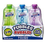 Fubbles Bubbles, 3 pk./64 oz.