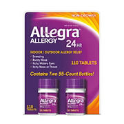 Allegra Allergy Non-Drowsy Tablets, 110 ct.