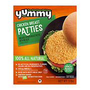 Yummy All Natural NAE Chicken Breast Patties, 5 lbs.