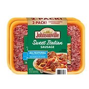 Johnsonville Sweet Italian Ground Sausage, 32 oz.