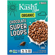 Kashi Chocolate Super Loops Cereal, 2 pk.