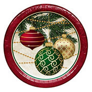 "Artstyle 'Decorate The Tree' Holiday 10"" Dinner Paper Plates, 40 ct."