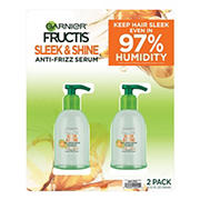 Garnier Fructis Sleek and Shine Anti-Frizz Serum, 2 ct.