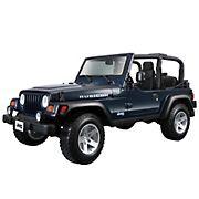 Maisto 1:18 Scale Vehicle - Jeep Wrangler Rubicon