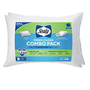 Sealy Pillows with Bonus Pillow Protector, 2 pk.
