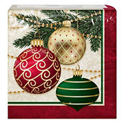"""Artstyle 'Decorate The Tree' Holiday 6"""" 3-Ply Paper Napkins, 120 ct."""