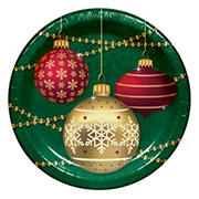 "Artstyle 'Decorate The Tree' Holiday 7"" Dessert Paper Plates, 75 ct."