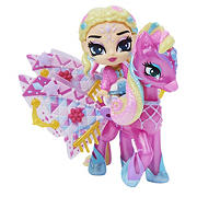 Hatchimals Pixies Riders - Wilder Wings Chic Claire Pixie and Zebrush