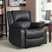 Relax A Lounger Parson Recliner - Black