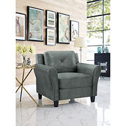 Lifestyle Solutions Harold Chair - Dark Grey