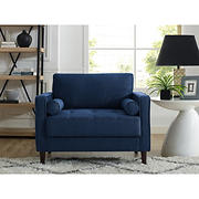 Lifestyle Solutions Langley Chair - Navy
