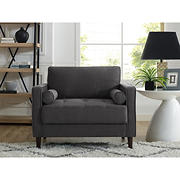 Lifestyle Solutions Langley Chair - Heather Grey